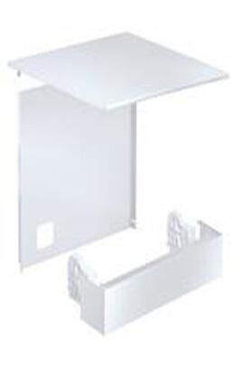 Jeu d'adaptation pour appareil posable Inox - Pour lave-vaisselle PG8055 et PG8059 Bandeau de socle avec 2 supports