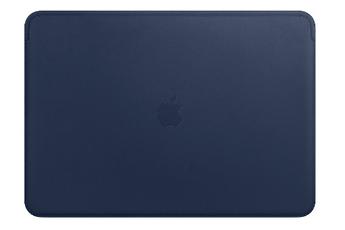8258334e58 Sacoche pour ordinateur portable Housse en cuir Bleu nuit pour MacBook Pro  13 pouces Apple