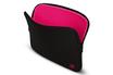 """Sacoche pour ordinateur portable Housse LA Robe noire et framboise pour Mac Book Air / Pro 13"""" ou PC 13"""" Be.ez"""