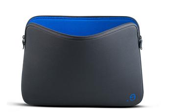 """Sacoche pour ordinateur portable Housse LA Robe grise et noire pour Mac Book Air / Pro 13"""" ou PC 13"""" Be.ez"""