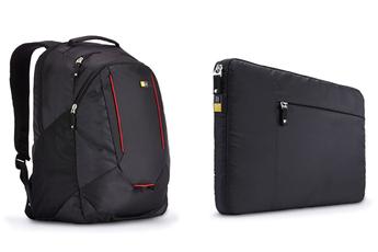 """Sacoche pour ordinateur portable Pack sac à dos Evolution + housse de protection pour ordinateur portable jusqu'à 15,6"""" et tablette jusqu'à 10,1"""" Case Logic"""