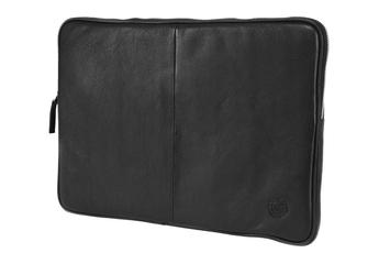 Sacoche pour ordinateur portable HOUSSE SLEEVE NOIRE EN CUIR D Bramante