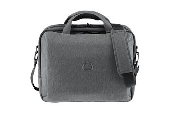 """Sacoche pour ordinateur portable Sacoche grise Mouvement pour ordinateur portable jusqu'à 15,6"""" Delsey"""