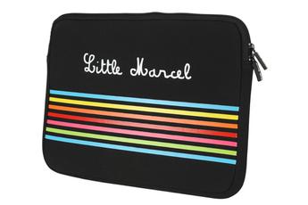 """Sacoche pour ordinateur portable Housse pour Macbook 13"""" et PC 13"""" Little Marcel"""