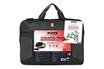 """Sacoche pour ordinateur portable Pack sacoche Top Loading noire + souris pour ordinateurs portables 17,3"""" Port"""
