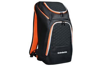 """Sacoche pour ordinateur portable Sac à dos Gaming noir et orange pour ordinateur portable 15,6"""" Port"""