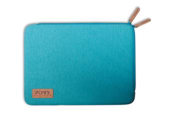 """Sacoche pour ordinateur portable Housse Torino sleeve universelle bleue pour ordinateur portable 12,5"""" Port"""
