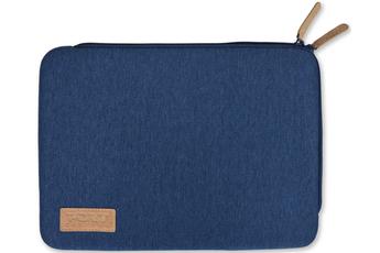 """Sacoche pour ordinateur portable Housse Torino sleeve universelle bleue pour ordinateur portable de 10'' à 12.5"""" Port"""