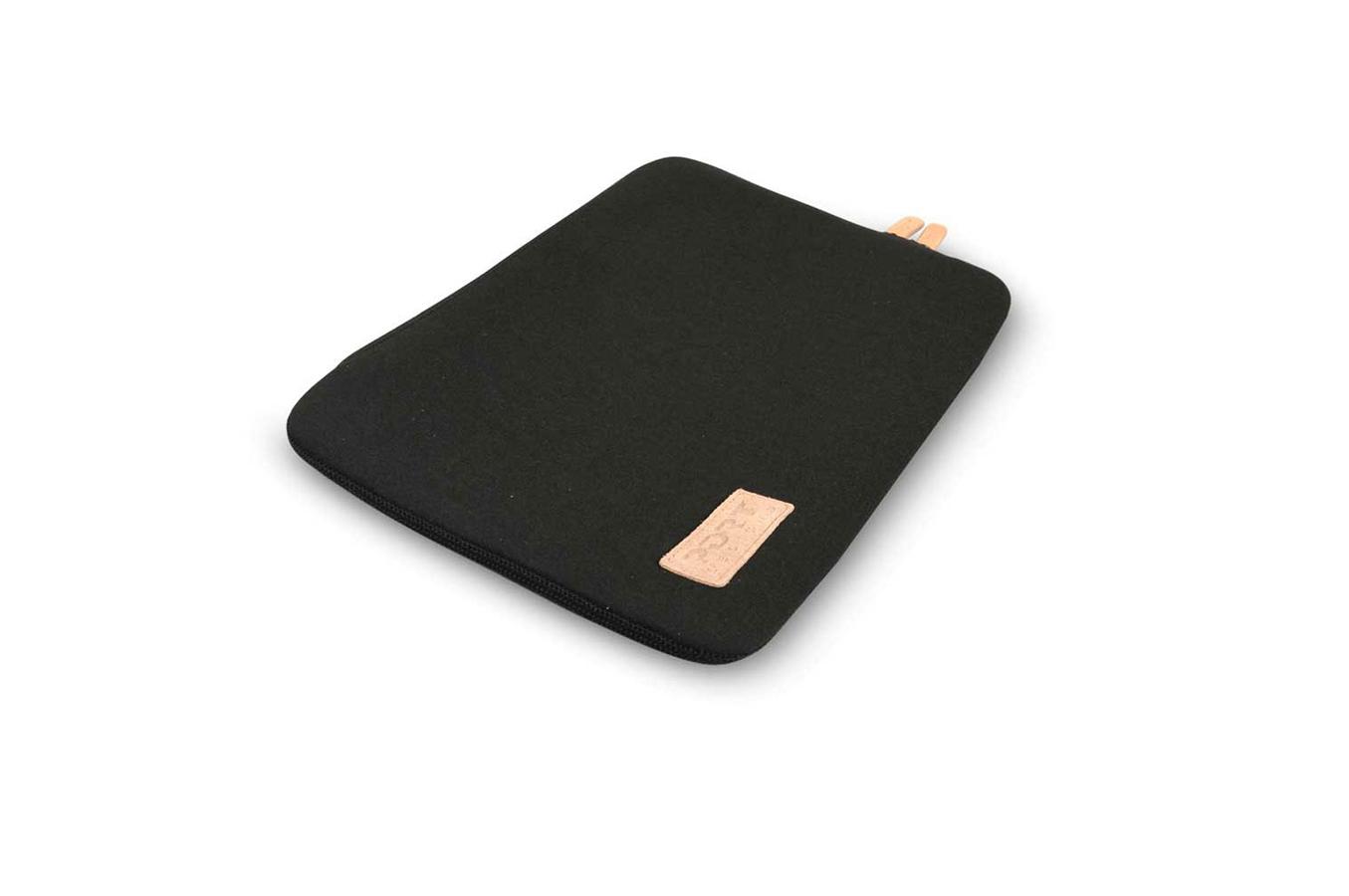 sacoche pour ordinateur portable port housse torino sleeve universelle noire pour ordinateur. Black Bedroom Furniture Sets. Home Design Ideas