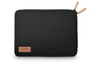 """Sacoche pour ordinateur portable Housse Torino sleeve universelle noire pour ordinateur portable 15,6"""" Port"""