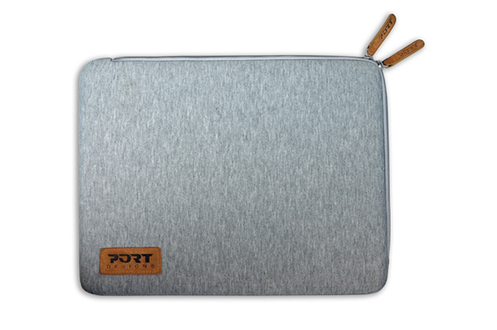 4e3df54f92 Sacoche pour ordinateur portable Sleeve skin universelle grise pour ordinateur  portable 13.3-14