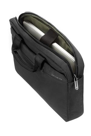 sacoche pour ordinateur portable samsonite sacoche grise pour ordinateur portable 12 pouces darty. Black Bedroom Furniture Sets. Home Design Ideas