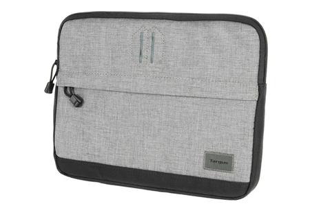 sacoche pour ordinateur portable targus strata housse polyester gris 11 12 tss635eu darty. Black Bedroom Furniture Sets. Home Design Ideas