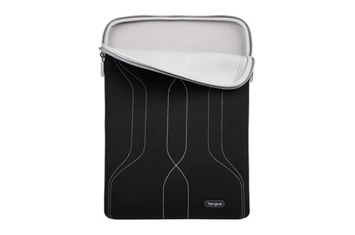 sacoche pour ordinateur portable targus housse 17 3 39 39 noir et grise sleeve 17 3 39 noire et. Black Bedroom Furniture Sets. Home Design Ideas