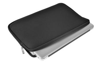 Sacoche pour ordinateur portable HOUSSE EN NÉOPRÈNE NOIRE POUR ORDINATEUR PORTABLE 12.5'' Temium
