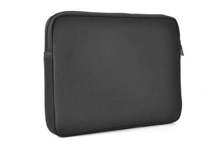sacoche pour ordinateur portable temium housse en néoprène noire