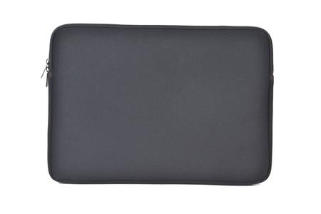sacoche pour ordinateur portable temium housse en n opr ne noire pour ordinateur portable 17 3. Black Bedroom Furniture Sets. Home Design Ideas