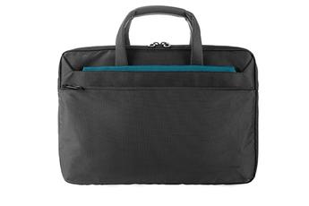 ddc46ec688 Sacoche pour ordinateur portable Sacoche noire nylon Workout 3 pour  ordinateur portable ou MacBook Pro 13