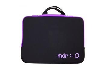 5cac7453db Sacoche pour ordinateur portable Housse sleeve violet pour ordinateur  portable 15