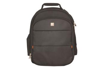 """Sacoche pour ordinateur portable Sac à dos en nylon noir pour ordinateur portable 17,3"""" Urban Factory"""