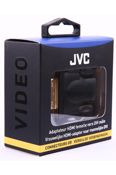Cable video ADAPTATEUR HDMI / DVI GOLD Jvc