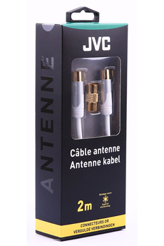 Cable video COAX W MM ADAP FF2M Jvc