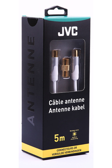 Cable video COAX W MM ADAPT FF5M Jvc