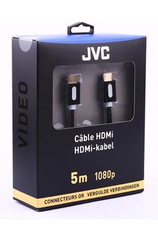 Cable video CORDON HDMI 5M GOLD Jvc