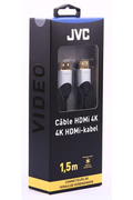 Cable video Jvc CORDON HDMI 4K 1,5M GOLD