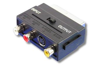 Connectique Audio / Vidéo Lineaire ADAPTATEUR PERITEL / 3 RCA - SVIDEO