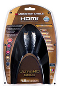 Monster Cordon hdmi Gold 1,5m