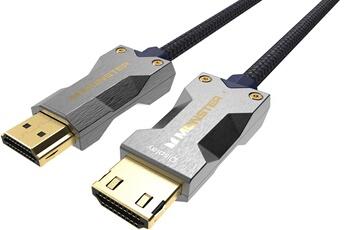 Connectique Audio / Vidéo Monster Cable CABLE HDMI M3000 UHD...