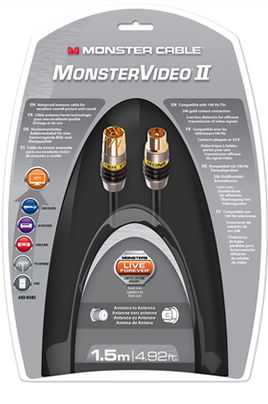 Cable video Monster MC PCX 1.5M