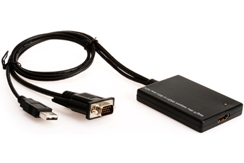 Cable video Convertisseur VGA en HDMI Erard
