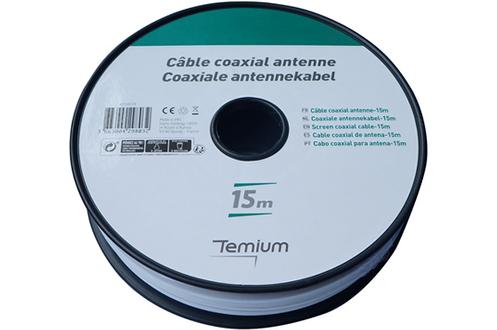 Cable video Temium BOBIN 15M