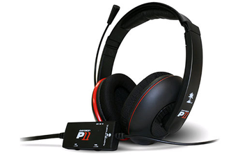 Casque micro / gamer Ear Force P11 pour PS3 / PC / Mac Bigben