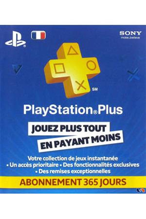 accessoires ps3 sony carte playstation plus abonnement 12 mois 365 jours ps4 ps3 ps vita