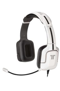 Casque micro / gamer Kunai Stéréo Headset pour PS3 / PS Vita Blanc Tritton