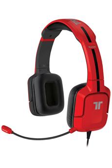 Casque micro / gamer Kunai Stéréo Headset pour PS3 / PS Vita Rouge Tritton