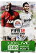 Microsoft 2100 POINTS FIFA12 photo 1