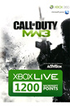 Microsoft CARTE PREPAYE 1200PTS COD8 MW3 photo 1