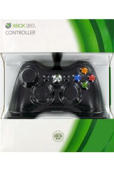 Accessoires Xbox 360 CONTROLLER BLACK Microsoft