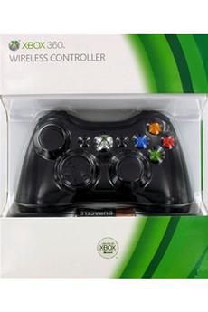 Accessoires Xbox 360 WIRELESS CONTROLLER BLACK Microsoft