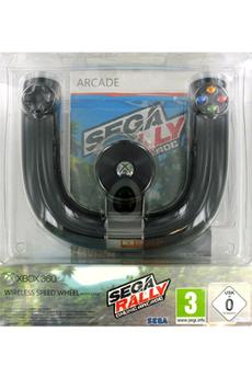 Accessoires Xbox 360 X360 VOLANT+ SEGA RALLY Microsoft