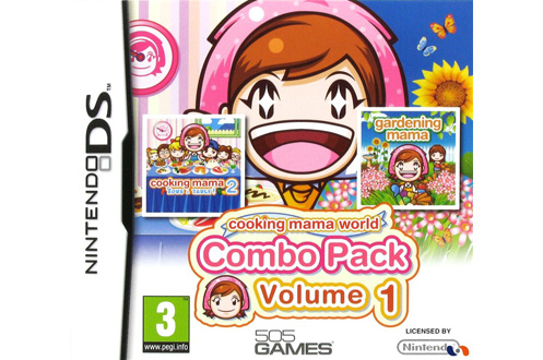 Jeux DS / DSI COOKING MAMA WORLD COMBO PACK VOL. 1 505 Games