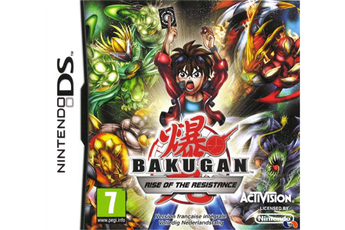 Jeux DS / DSI BAKUGAN RISE OF THE RESISTANCE Activision