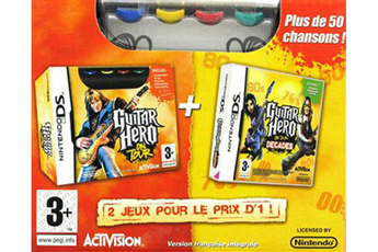 Jeux DS / DSI GUITAR HERO BIPACK Activision