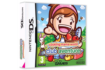 Jeux DS / DSI COOKING MAMA WORLD : CLUB AVENTURE Digital Bros