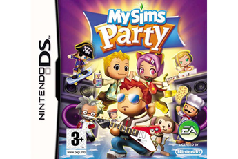 Jeux DS / DSI MY SIMS PARTY Electronic Arts