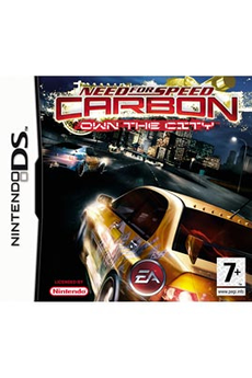 Jeux DS / DSI NEED FOR SPEED CARBON DS Electronic Arts